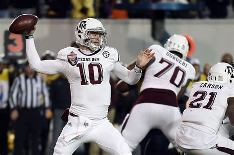 texas am kyle allen quarterback 5 players most likely to win the next heisman trophy page 2
