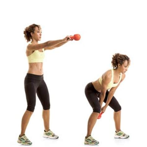 kettle bell swing everyday living fit 15 minute kettlebell crossfit workout