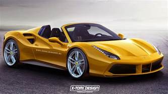 Images Of Ferraris 488 Gtb Gets Turned Into A 488 Gts Spider