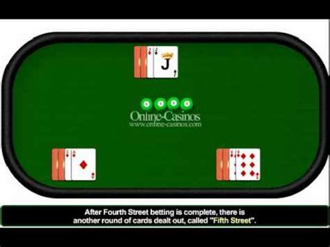 play  card stud poker  card stud poker rules youtube