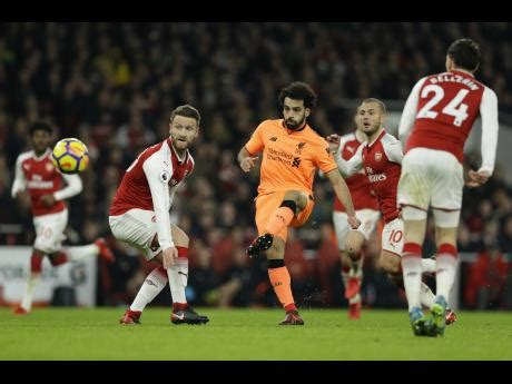 arsenal yesterday results arsenal liverpool in exciting 3 3 draw sports jamaica