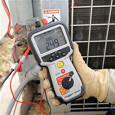 testing low voltage wires electricians insulation resistance testers