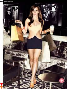 Hell Bunny Vanity Dress Emma Watson Gq Magazine 2013