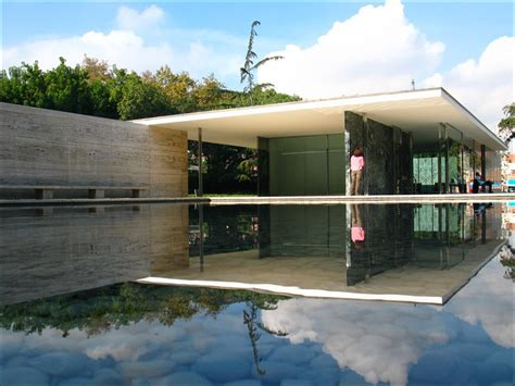 Pavillon Mies Der Rohe by Architecture As Aesthetics Barcelona Pavilion