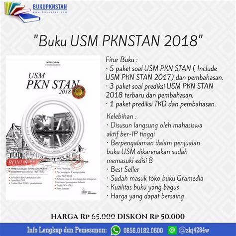 Panduan Wajib Usm Pkn Stan Civitas Guide Edisi 2018 buku prepare usm pkn stan 2018 plus 1 soal prediksi tkd