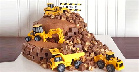 cakespiration 12 construction cakes they ll really dig mum s grapevine