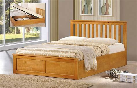 solid wood ottoman bed new oxford ottoman storage bed oak or white finish