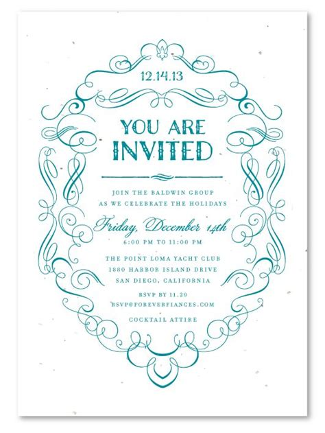 formal business invitation card template formal dinner invitation template invitations ideas