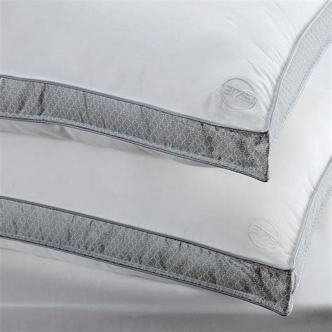 bed rest pillow removable cover performance pillow removable cover with 37 5 technology