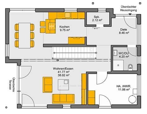 Grundriss Doppelhaus Ebenerdig by Architekten Haus Trento 153 Grundriss Erdgeschoss