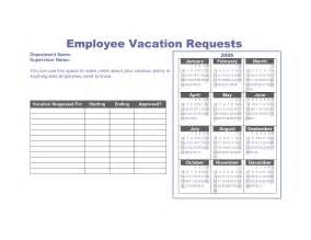 request calendar template vacation request form printable calendar template 2016