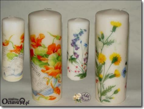 candele decoupage decoupaged candels decoupage world candles