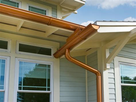 house gutters maximum value home exterior projects gutters hgtv