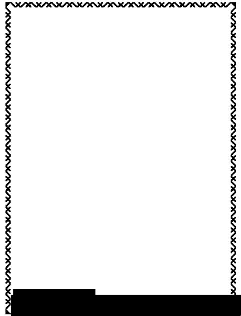 Black And White Border Cards Template by 21 Best Borders Clipart Free Find Wonderful Clipart And
