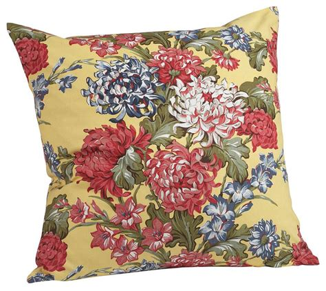 Floral Accent Pillows by Vintage Floral Pillow Cover Traditional Decorative