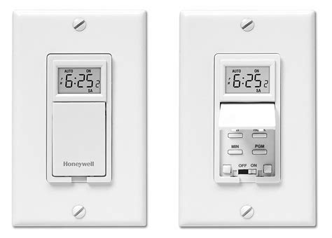 wall light switch timer honeywell rpls730b1000 u 7 day programmable light switch