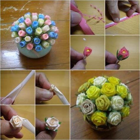 to make beautiful how to make beautiful flowers from drinking straws diy