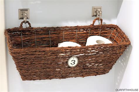 what to put in baskets in bathrooms at a wedding 6 vanity and easy to make diy bathroom ideas diy