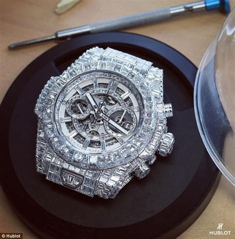 mayweather watch floyd mayweather splashes 1 1m on encrusted watch
