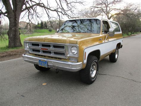 1976 gmc jimmy for sale california 1976 gmc jimmy 4x4