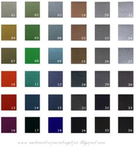 ppg colors paint colors for 78 impala colors