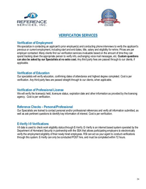 Rehire Cover Letter by Reference Services Overview