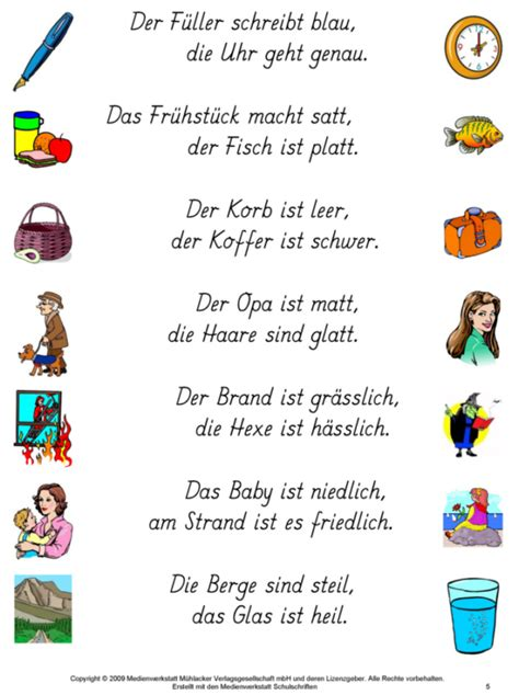 Reime Fur Kindergartenkinder