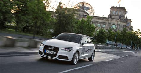 Audi äger Lamborghini by Audi A1 E Tron Ein Technologietr 228 Ger Ganz Anderen