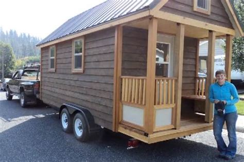 tiny house on a trailer construction time lapse