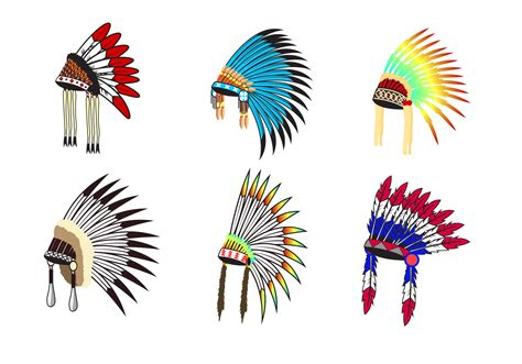 indian headdress template free indian headdress vector free vector