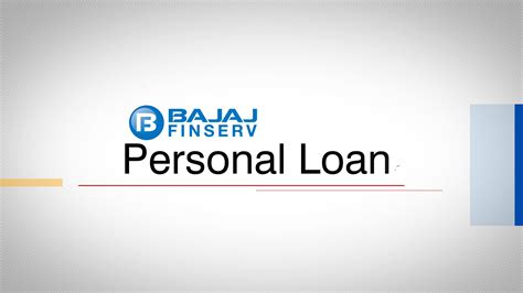 how to apply for a bajaj finserv personal loan on