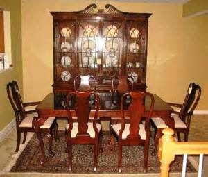 buy heirloom quality henredon dining room set in excellent