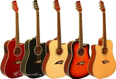 guitar colors kona k1e cutaway acoustic electric guitar 7 colors and