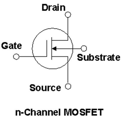 simbol transistor mosfet image gallery mos fet transistor symbol
