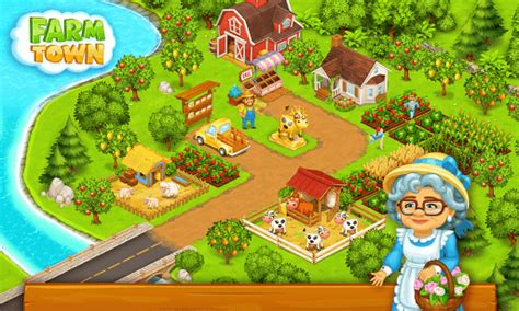 download game farm town mod apk download farm town happy city day story mod money for