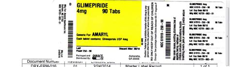 Glimepiride 2 Mg Isi 10 dailymed glimepiride glimepiride tablet