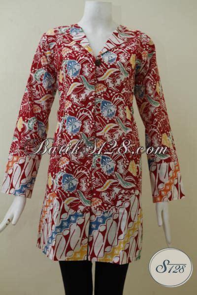 Baju Trendy Jaket Lengan Panjang Baju Fashion Anak Muda 17 batik lengan panjang desain formal cocok untuk seragam