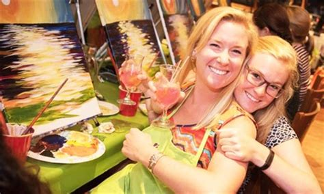 paint nite groupon south africa painting event at local bar paint nite groupon