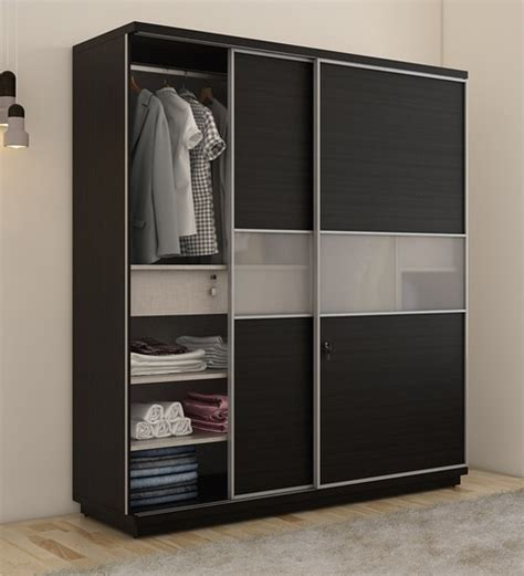 Wardrobe Door Finishes - buy kosmo universal wardrobe with sliding doors in