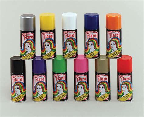colored hairspray coloured hair spray