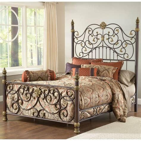 wrought iron bed headboards stanton iron bed by hillsdale furniture wrought iron