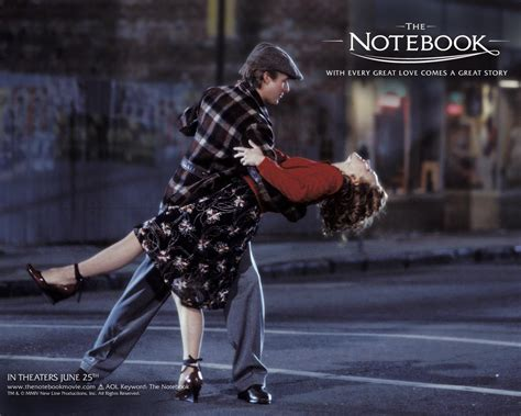 the notebook reel diary the notebook 2004