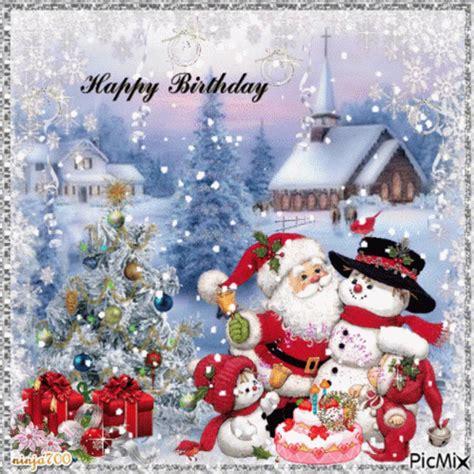 christmas birthday gif christmas birthday happybirthday discover share gifs