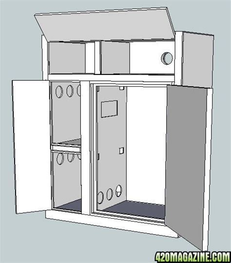 plans for grow cabinet plans diy free plans for a