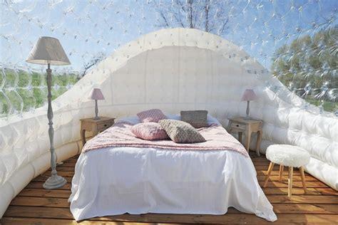 chambre bulle une nuit insolite en is 232 re domaine de suzel
