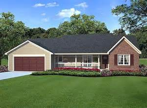 Traditional Country House Plans by Country Ranch Traditional House Plan 20083