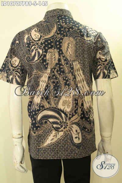 Baju Batik Terbaru Lengan Pendek Ukuran M Motif Bunga model baju batik terbaru hem batik elegan size s