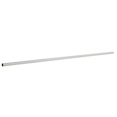 franklin brass 5 ft steel shower rod with flanges in