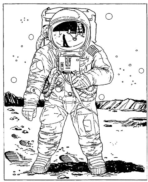 Mostly Paper Dolls September 2012 Astronaut Coloring Pages