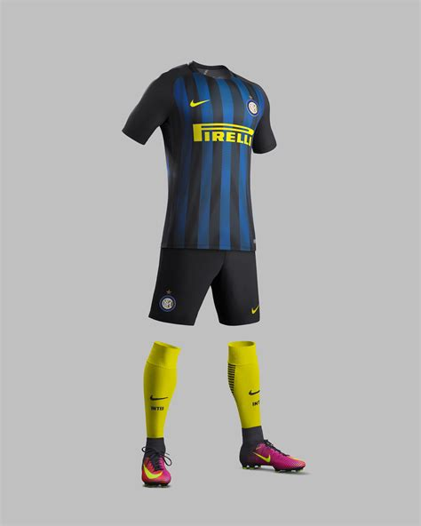 Ck Everston fc internazionale home and away kits 2016 17 nike news